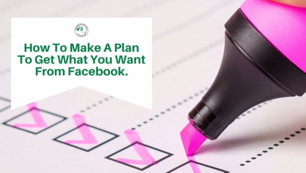 How to create a plan to get what you want