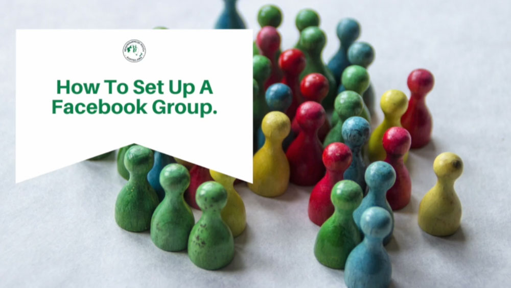 How to set up a group