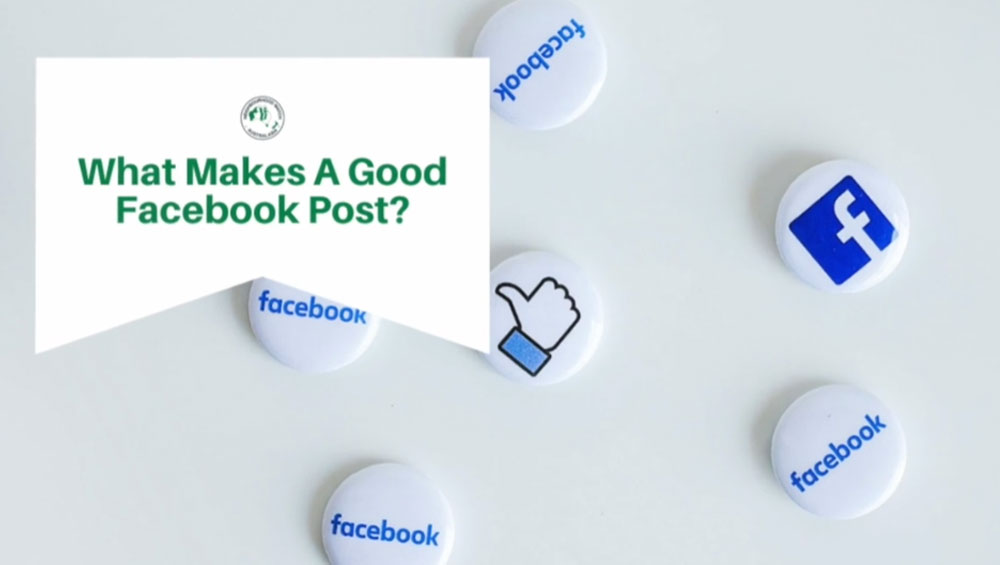 What makes a good Facebook post?